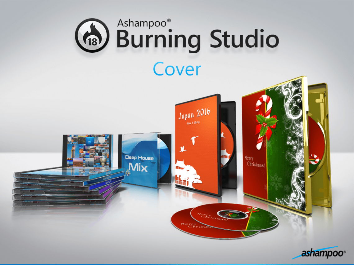 Ashampoo Burning Studio, CD yakıcı, DVD yakıcı, Blu-ray yakıcı, yedekleme, multimedya paketi, yakma yazılımı