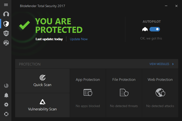 Bitdefender total security 2017 türkçe, bitdefender total security multi-device 2017