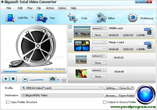 Bigasoft Total Video Converter (Kampanya) Hediye 3 gün