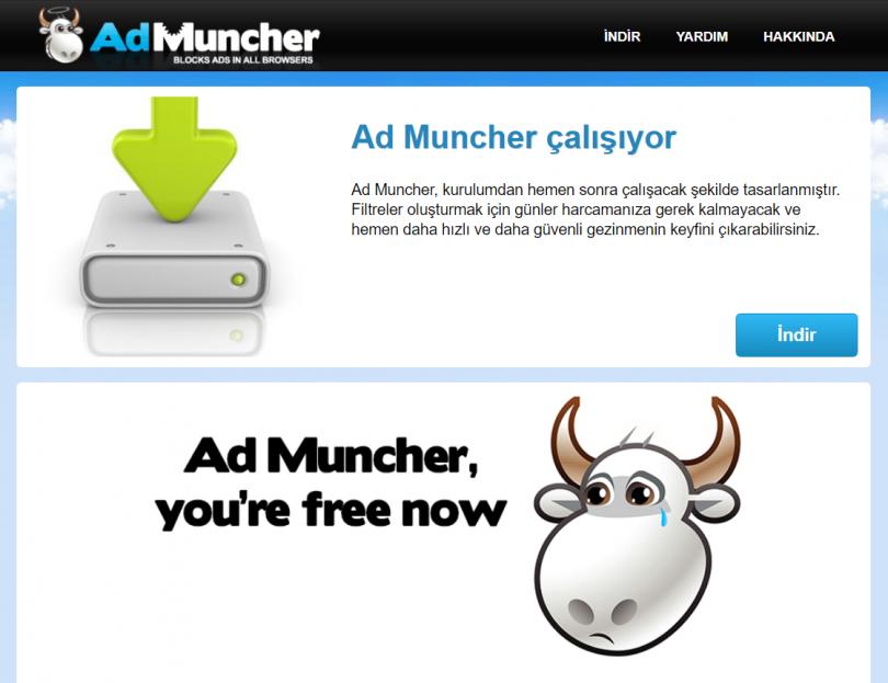 ad-muncher-ucretsiz