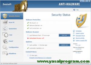 Emsisoft Anti-Malware Kampanya