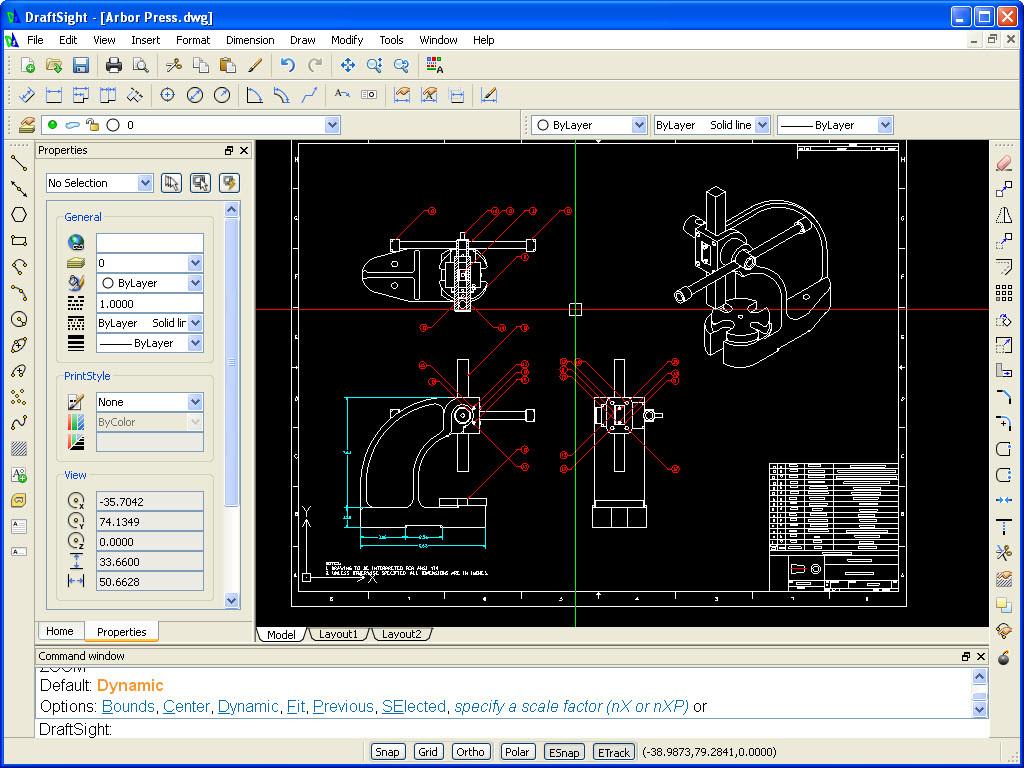 DraftSight Ücretsiz, draftsight indir