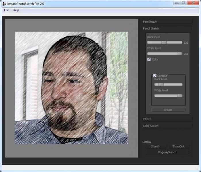 InstantPhotoSketch Pro
