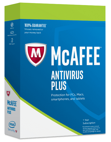 McAfee AntiVirus Plus,McAfee AntiVirus Plus 2017