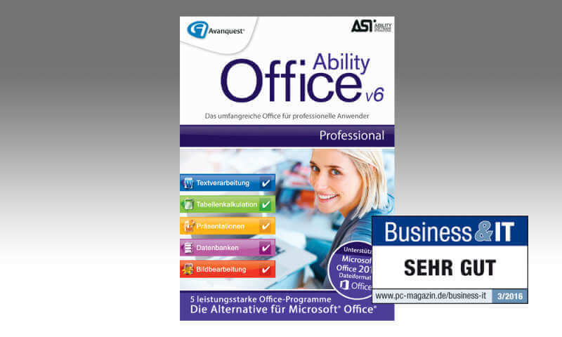 Ability Office Professional,Ability Office Professional v6