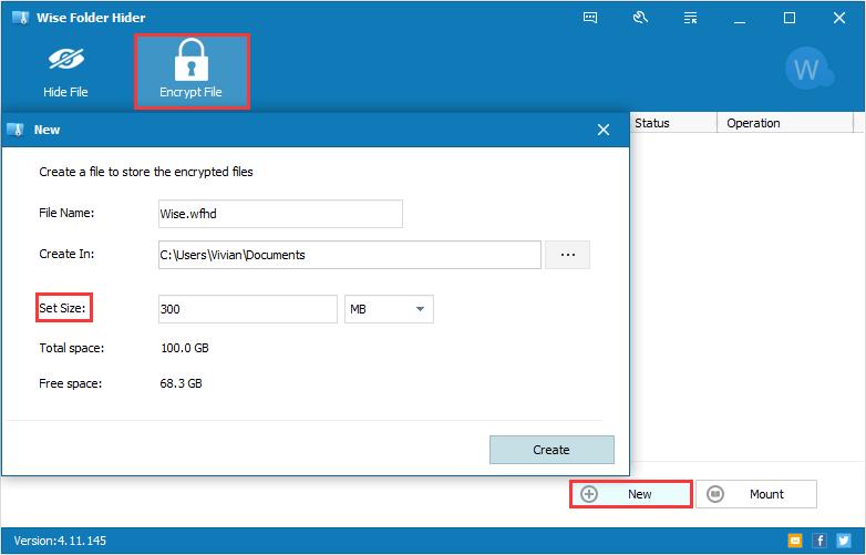 dosya şifrele,Wise Folder