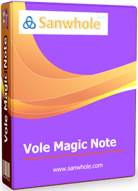 Vole Magic Note Professional Edition