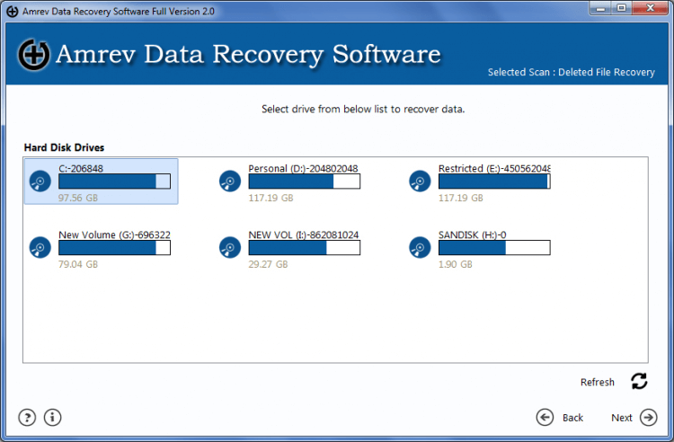 Amrev Data Recovery 2,Amrev Data Recovery