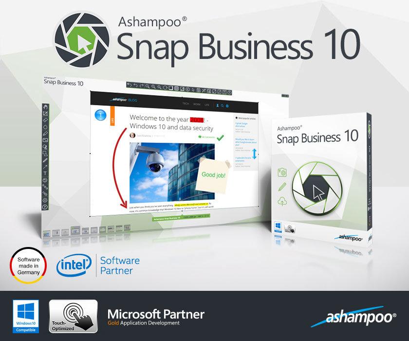 Ashampoo Snap Business Ashampoo Snap Business Tam Sürüm Lisans Anahtarı Alın!