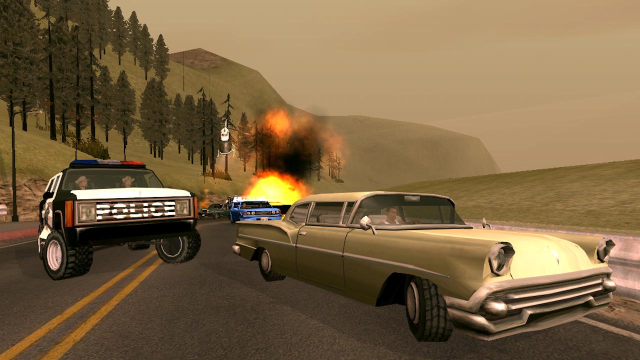 GTA San Andreas APK,GTA San Andreas APK İndir