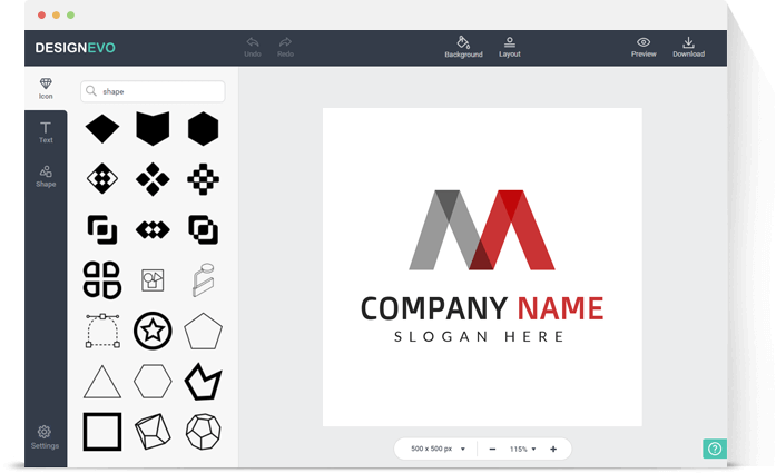 DesignEvo Logo Maker,DesignEvo